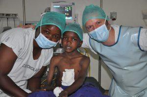 Operiertes Kind
